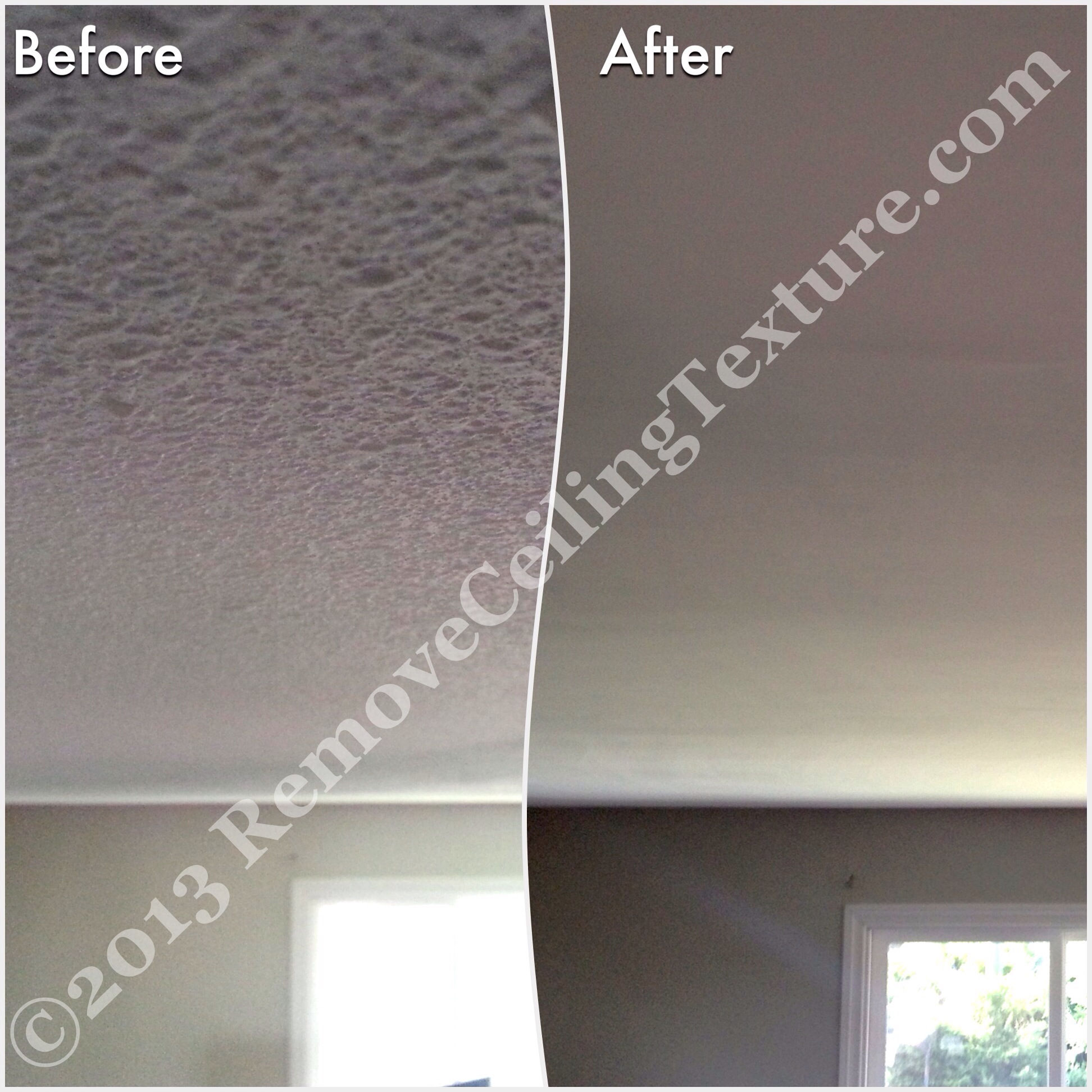 How To Remove Your Popcorn Ceilings : Apps Directories