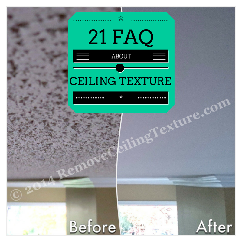 21 FAQ About Ceiling Texture